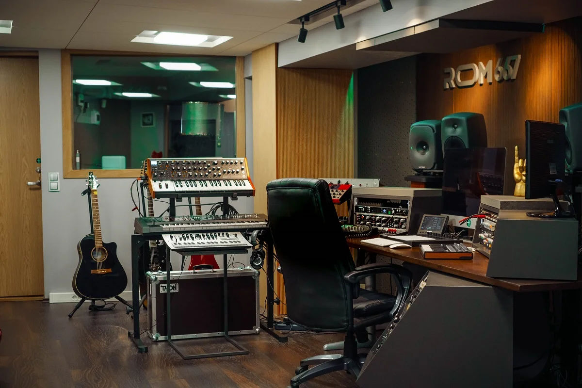 Muusika studio ehitamine foto 1